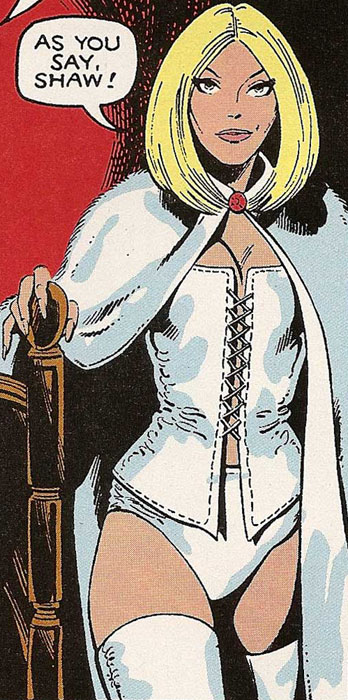 An early pic of Emma Frost